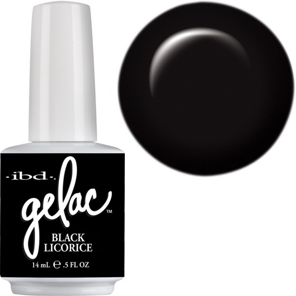 IBD Gelac 15ml Black Ricorice