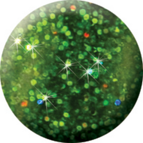 585 CN Színes Laser Brill porcelán 7g - Zöld