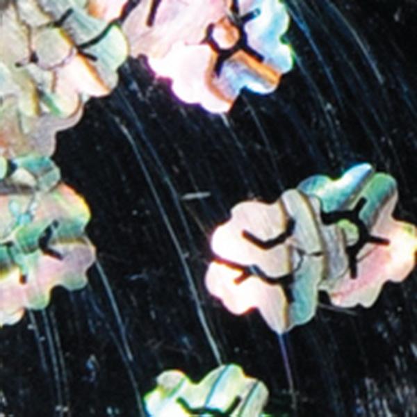 Kagylóhéj dísz kagylóhéj színű (világos) virág