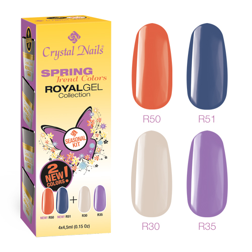 Spring Trend Colors Royal Gel készlet