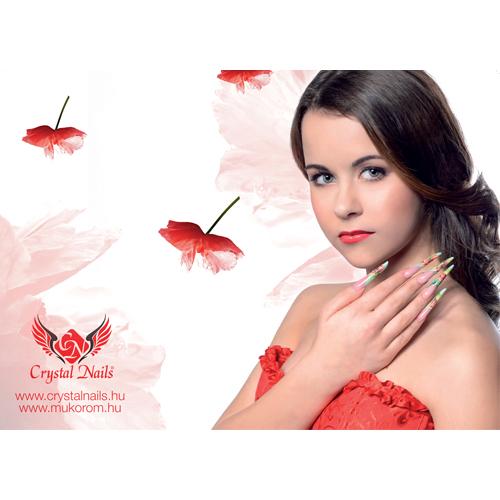 Crystal Nails poszter 23 - A/3 méret