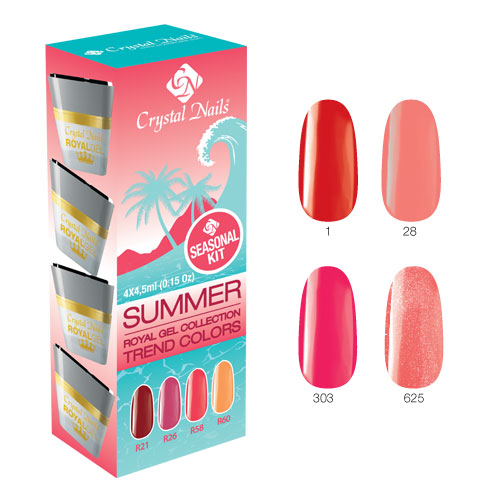 Trend Colors Summer Royal gel készlet