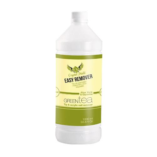 Illatos Crystal Nails tip-, porcelán és CrystaLac oldó - 1000ml zöld tea