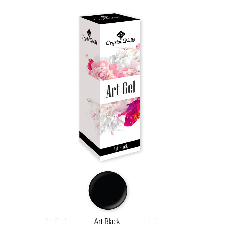 ART GEL FESTŐZSELÉ - ART BLACK