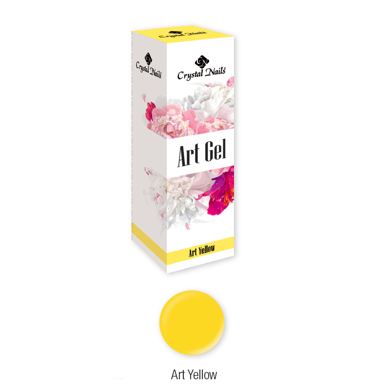ART GEL FESTŐZSELÉ - ART YELLOW