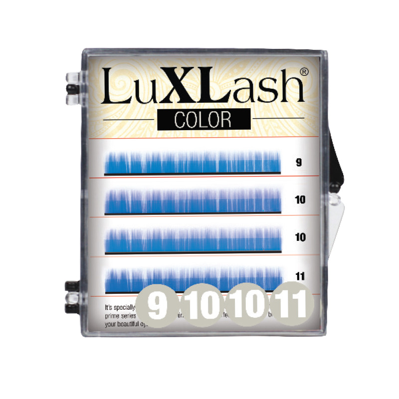 LuXLash Color Lash - Blue C/0,10 (9,10,11)