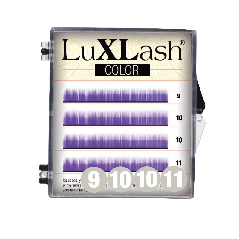 LuXLash Color Lash - Purple C/0.10 (9,10,11)