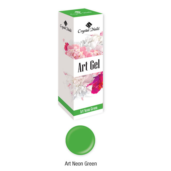 Art Gel sűrű festőzselé - Art Neon Green (5ml)