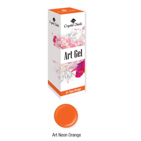 Art Gel sűrű festőzselé - Art Neon Orange (5ml)