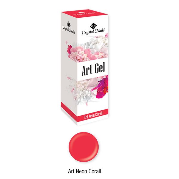 ART GEL SŰRŰ FESTŐZSELÉ - ART NEON CORAL