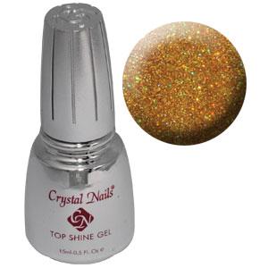 Top Shine zselé (Holo Gold) - 15ml