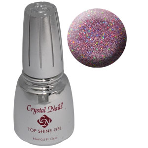 Top Shine zselé (Holo Pink) - 15ml