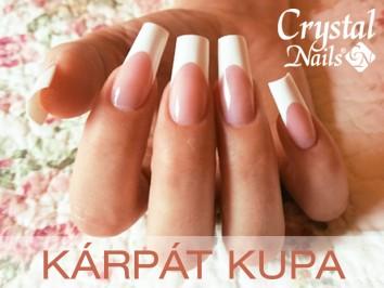 Kárpát Kupa: fényesen csillogó Crystal Nails érmek Ukrajnából