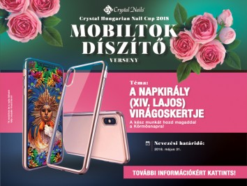 Crystal Nails Mobiltok díszítő verseny