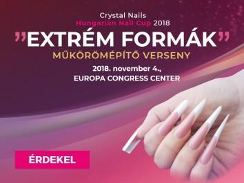 Crystal Nails Körmösnap - Extrém formák műkörömépítő verseny