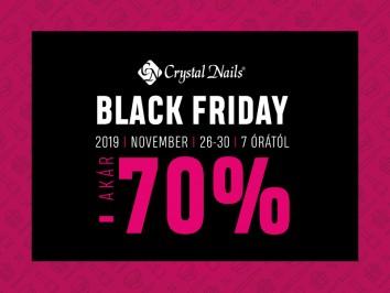 Crystal Nails - Black Friday