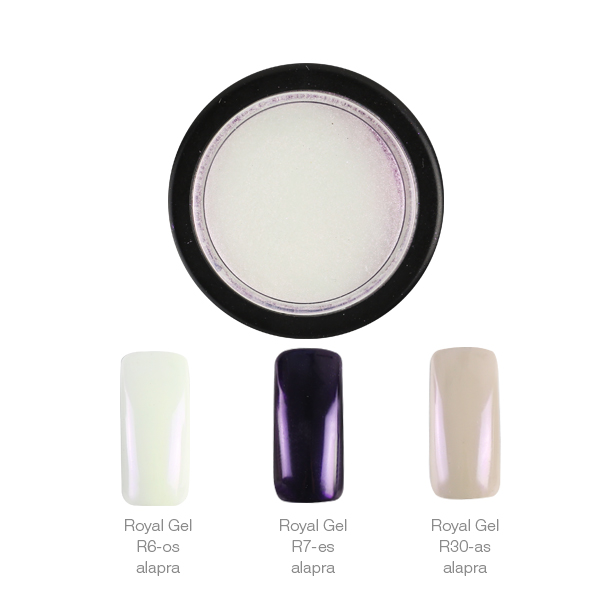 Crystal Nails ChroMirror króm pigmentpor - Shiny Pearl 3