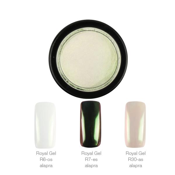Crystal Nails ChroMirror króm pigmentpor - Multi Pearl 1