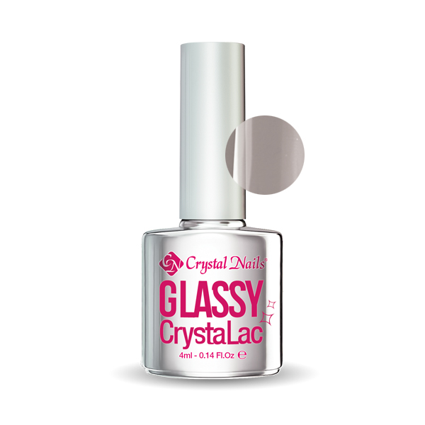 Glassy CrystaLac - Black (4ml)