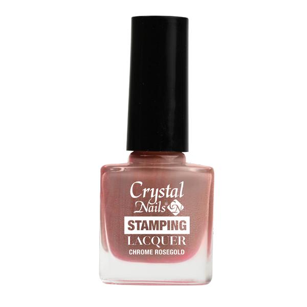Stamping lacquer nyomdalakk - Chrome rosegold