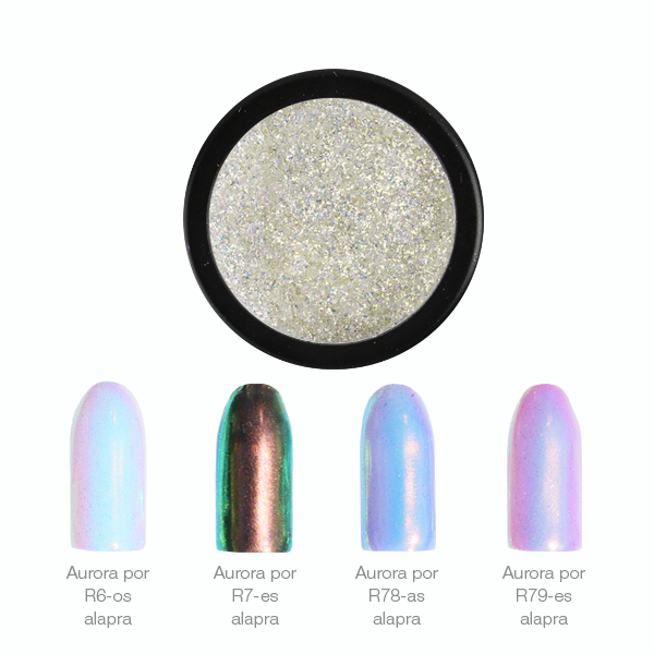 ChroMirror Aurora króm pigmentpor