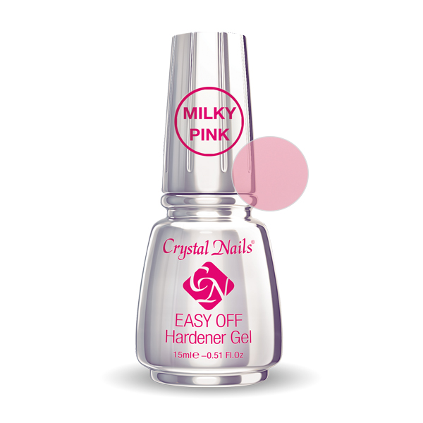Easy Off Hardener Gel (Milky Pink) - 15ml