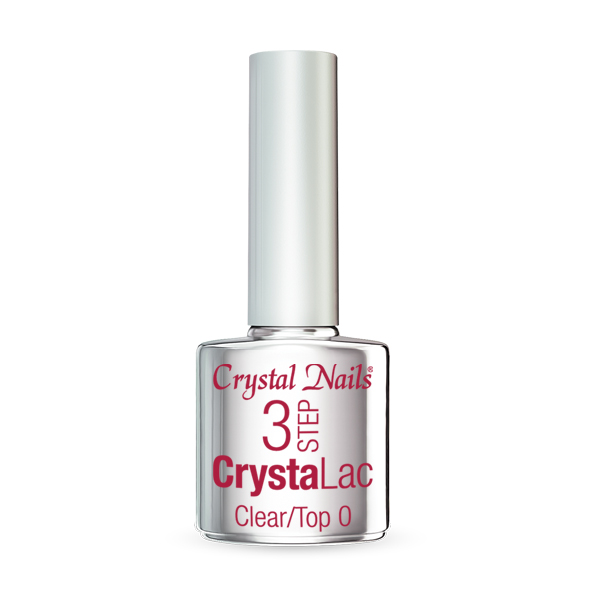 3 STEP CrystaLac - Clear/Top 0 (8ml)