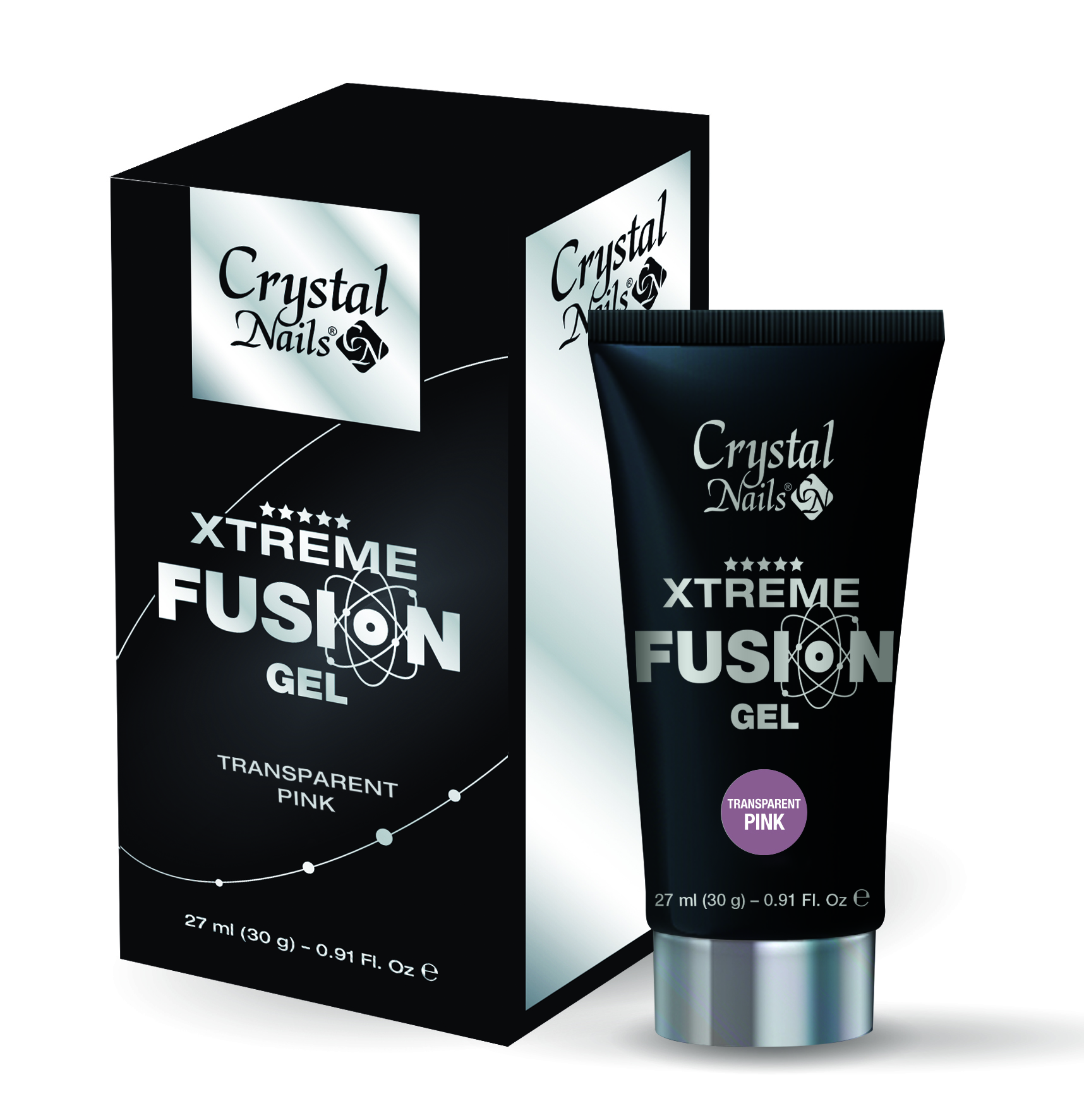 Xtreme Fusion AcrylGel Transparent Pink – 30g