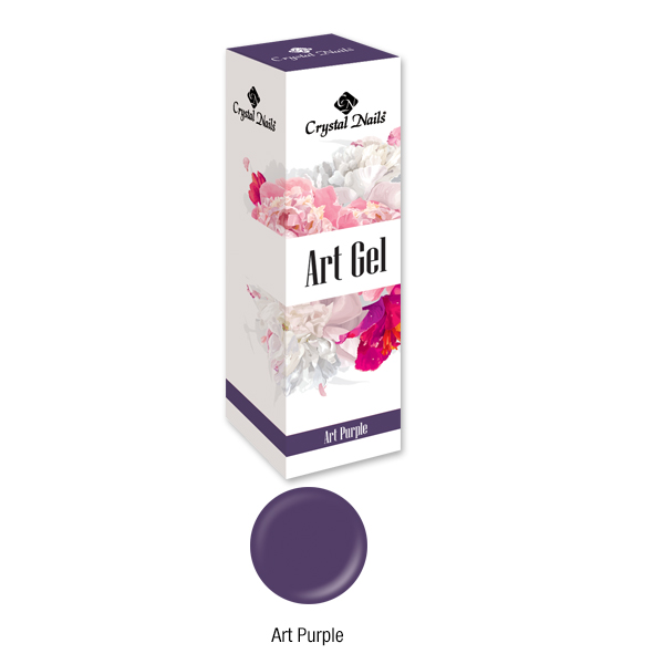 Art Gel festőzselé - Art Purple (5ml)