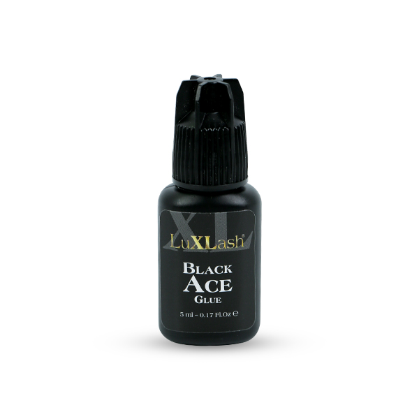 LuXLash Black Ace Glue - fekete pillaragasztó 5ml
