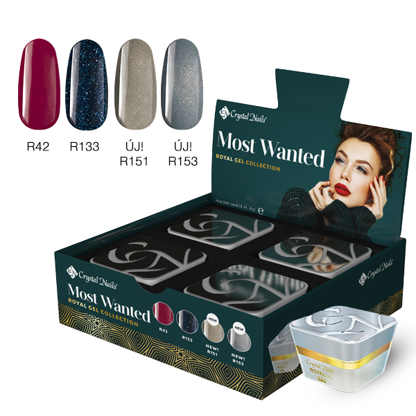 Most Wanted! Royal gel készlet 2019 Winter (4x4,5ml)