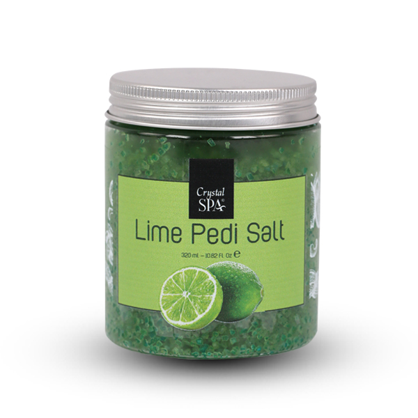 Pedi salt - pedikűr só - LIME