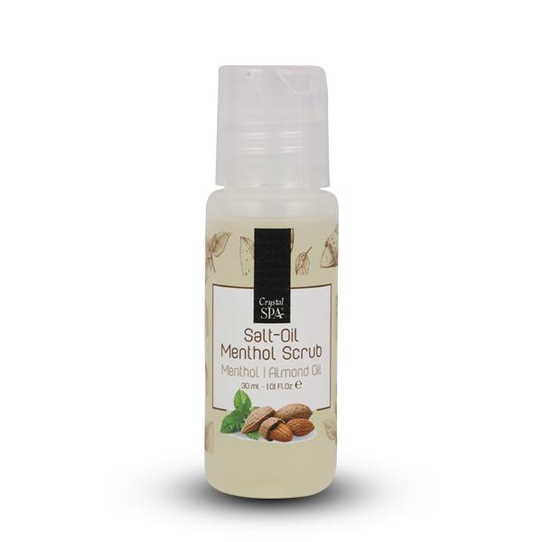 Salt Oil - Menthol Scrub - Olajos só - radír mentollal 30ml