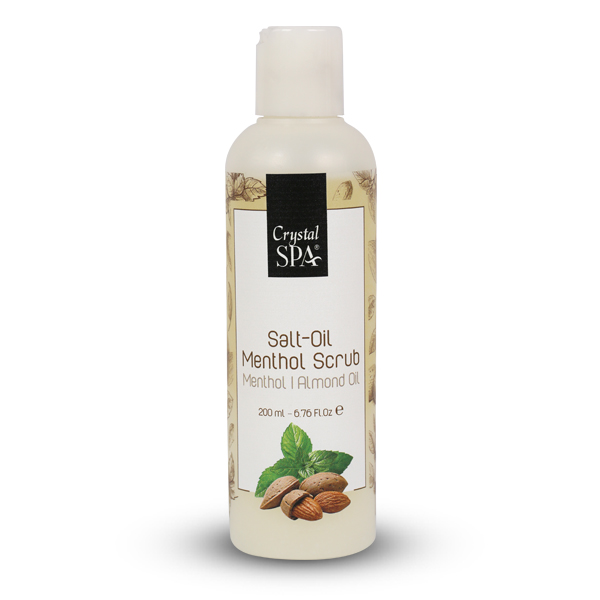 Salt Oil - Menthol Scrub - Olajos só - radír mentollal 200ml