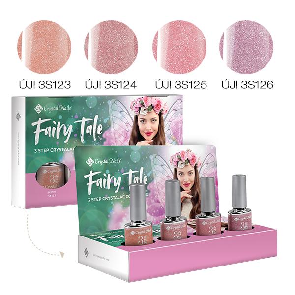 Fairy Tale 3 STEP CrystaLac készlet (4x4ml)