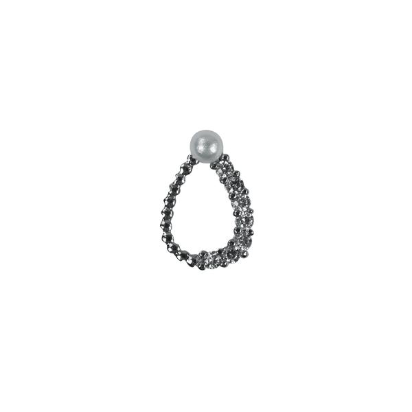 Nail Charm 4 - ezüst