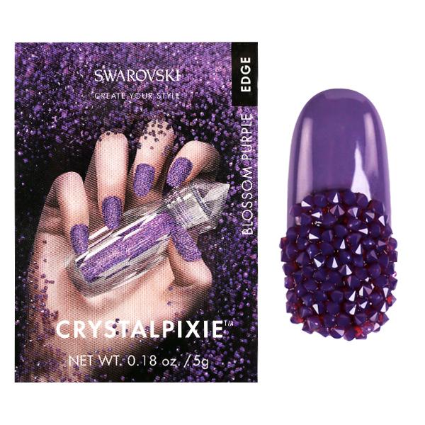 Swarovski Crystal Pixie – Edge Blossom Purple