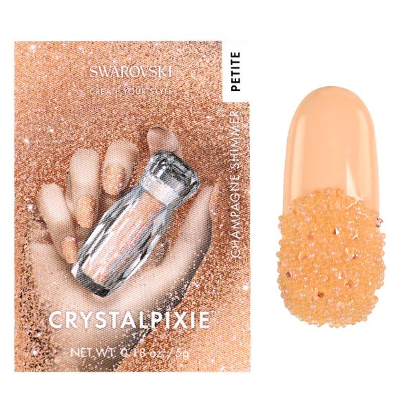 Swarovski Crystal Pixie – Petite Champagne Shimmer 5g