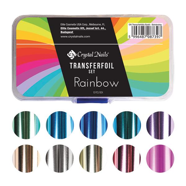 Transzferfólia Szett - Rainbow