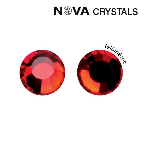 NOVA Crystal Strasszkő - Red SS5 (1,8 mm)