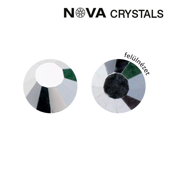 NOVA Crystal Strasszkő - Silver SS3 (1,4 mm)
