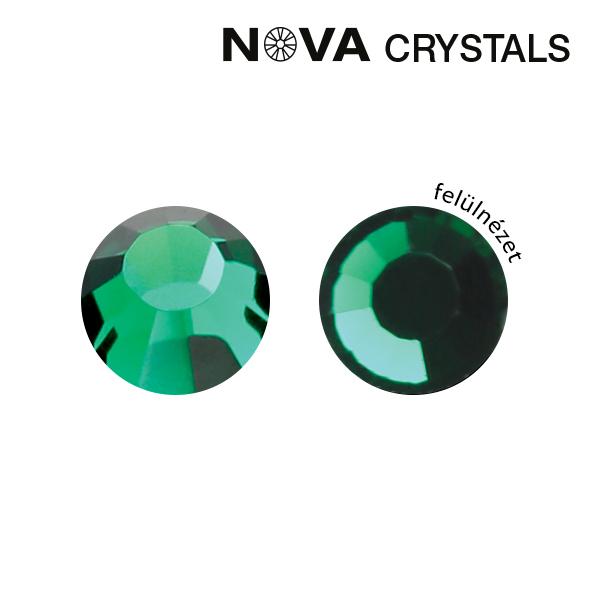 NOVA Crystal Strasszkő - Emerald SS3 (1,4 mm)