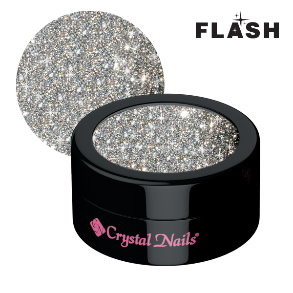 Flash glitters 1 - ezüst