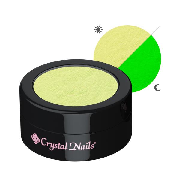 Glow pigmentpor - sárga