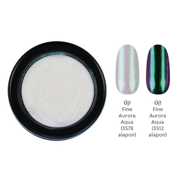 ChroMirror króm pigmentpor - Fine Aurora Aqua