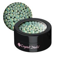 Opál strasszkő vegyes méretekben - green
