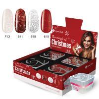 The Magic of Christmas színes zselé készlet (4x5ml)