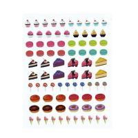 Jewel sticker ékszermatrica 38