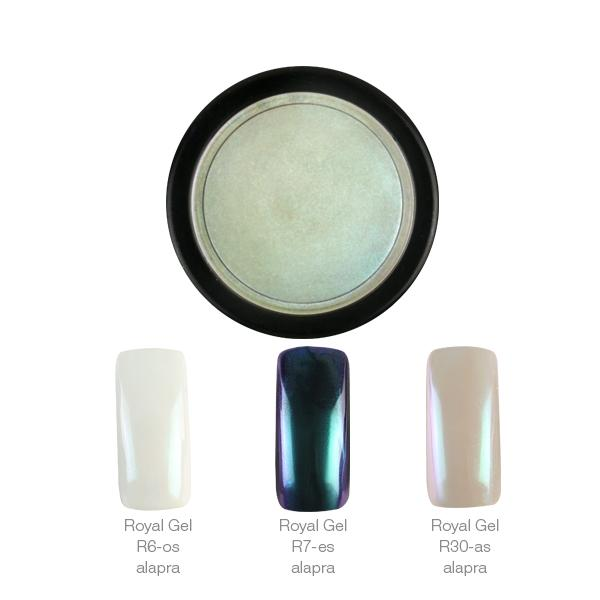 Crystal Nails ChroMirror króm pigmentpor - Shiny Pearl 2