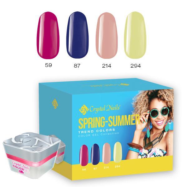 2017 Trend Colors Spring-Summer színes zselé készlet